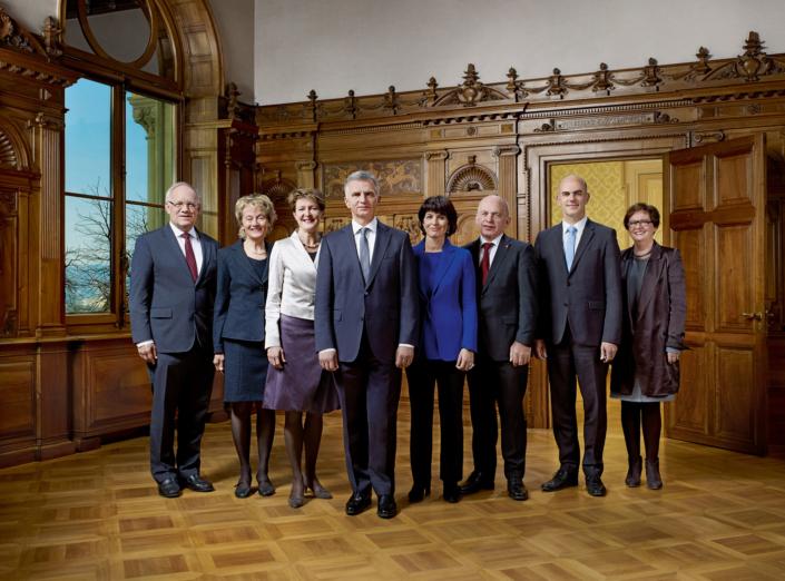 Bundesrat Gruppenfoto